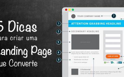 5 Dicas para Criar uma Landing Page